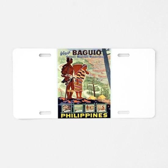 Vintage poster - Philippine Aluminum License Plate