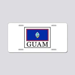 Guam Aluminum License Plate