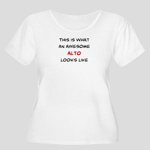 awesome alto Women's Plus Size Scoop Neck T-Shirt