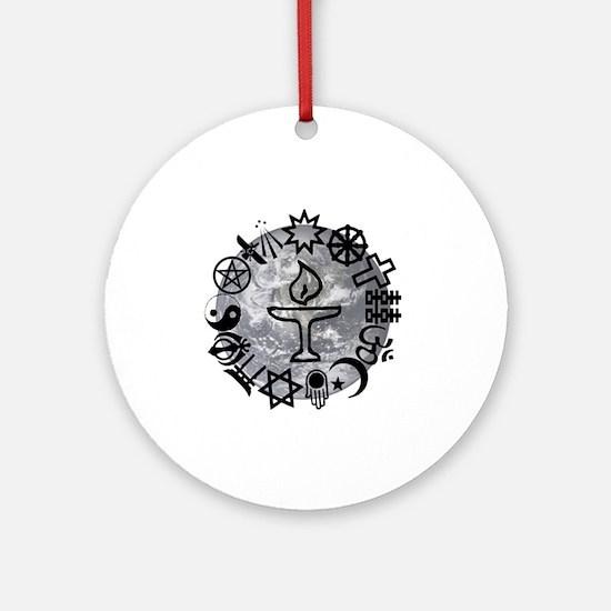Unitarian 6 Round Ornament