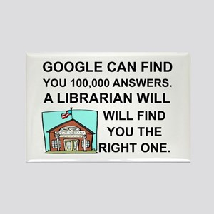LIBRARIAN - GOOGLE CAN FIND... Magnets