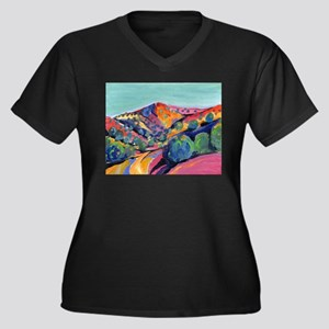 New Mexico Art Plus Size T-Shirt