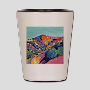 New Mexico Art Shot Glass