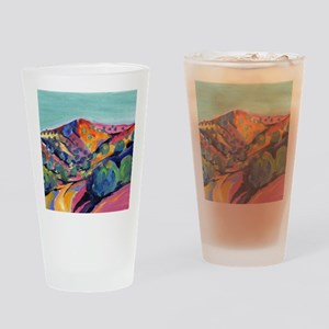 New Mexico Art Drinking Glass