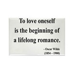 Oscar Wilde 26 Rectangle Magnet (100 pack)