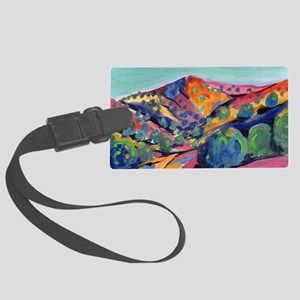 New Mexico Art Large Luggage Tag