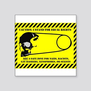 Unsafety Pin Sticker