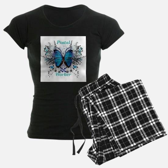 Postal Worker Butterfly Pajamas