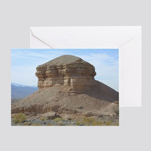Canyons in Vegas Greeting Cards
