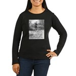 I Cannot Tell a Lie Women's Long Sleeve Dark T-Shi