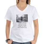 I Cannot Tell a Lie Women's V-Neck T-Shirt