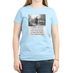 I Cannot Tell a Lie Women's Light T-Shirt