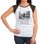 I Cannot Tell a Lie Women's Cap Sleeve T-Shirt