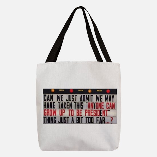 Anyone can Polyester Tote Bag