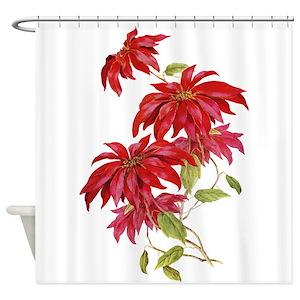Holly Jolly Christmas Shower Curtains