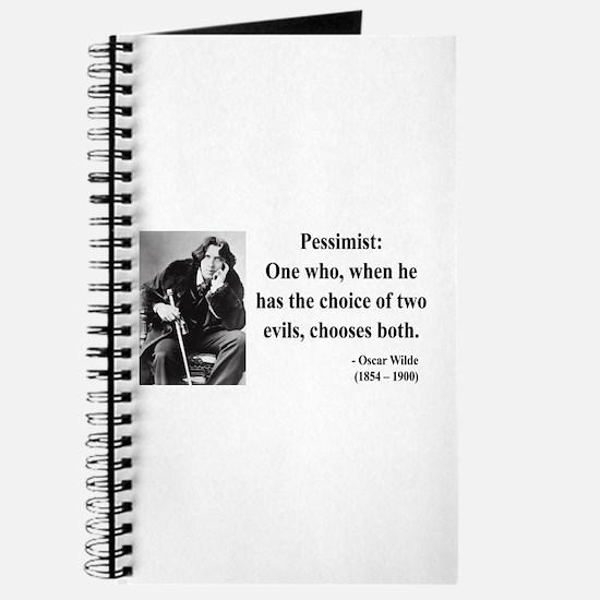 Oscar Wilde 28 Journal