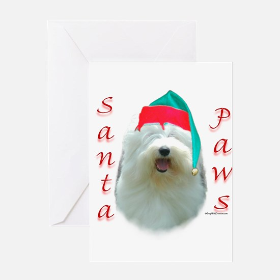 Santa Paws OES Greeting Cards