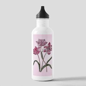 Maria Sibylla Merian: Three Tulips Water Bottle