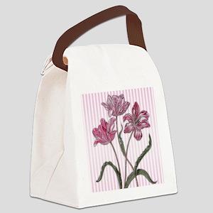 Maria Sibylla Merian: Three Tulips Canvas Lunch Ba