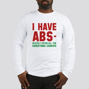 I Have Abs Long Sleeve T-Shirt