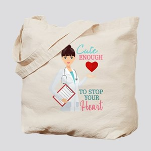 Cute Nurse or Doctor Tote Bag