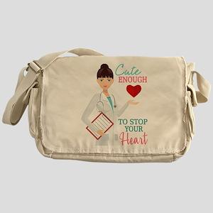 Cute Nurse or Doctor Messenger Bag