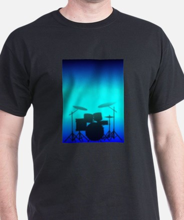 Halftone Band Poster T-Shirt