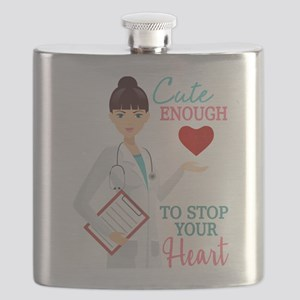 Cute Nurse or Doctor Flask