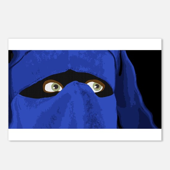Islam Lady Postcards (Package of 8)
