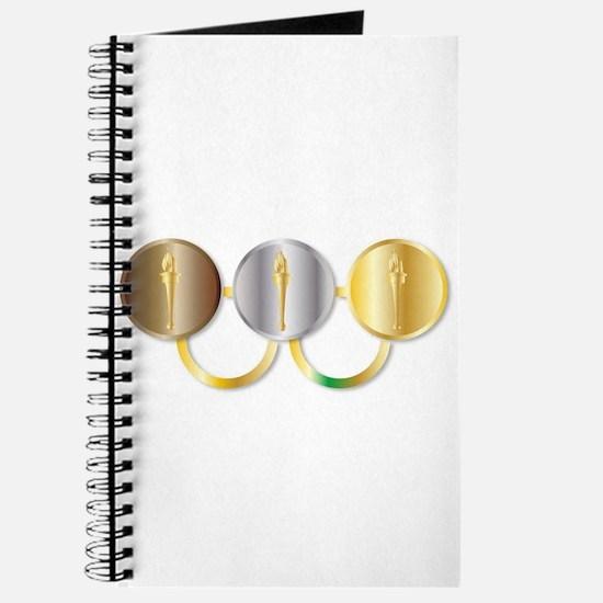 Medal Olympic Rings Journal