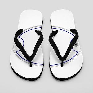 Porcelain Plaque Flip Flops