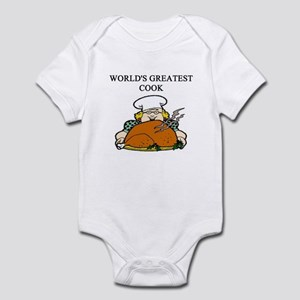 cook gifts t-shirts Infant Bodysuit