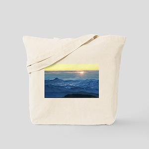 Sunrise over asheville north carolina Tote Bag