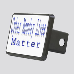 Cyber Monday Lives Matter Rectangular Hitch Cover