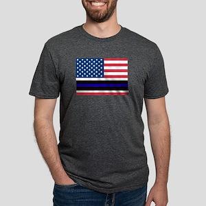 Police Blue Line T-Shirt