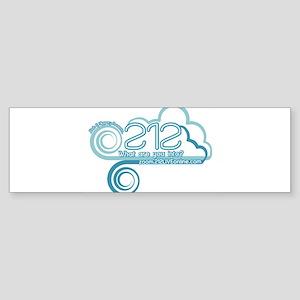 212 Logo Bumper Sticker