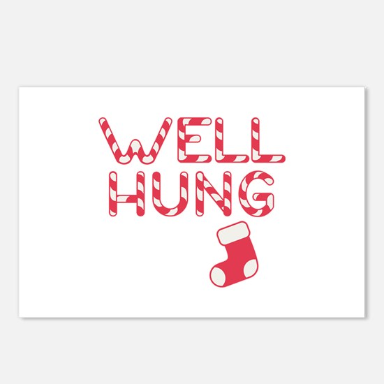 Well Hung Postcards (Package of 8)