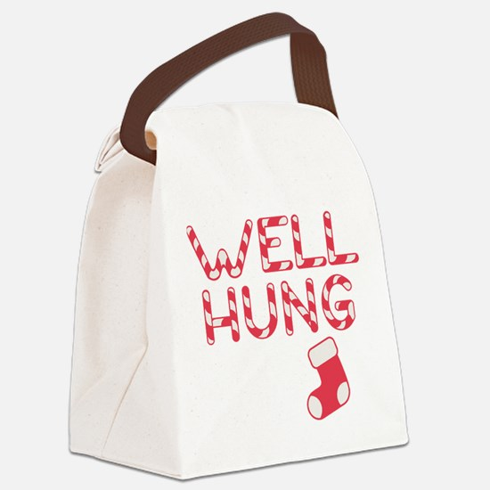 Well Hung Canvas Lunch Bag