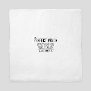Bernie Sanders 2020 Perfect Vision Queen Duvet