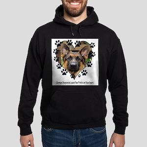 German Shepherds Leave Pawpri Sweatshirt