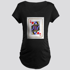 Queen Hearts Maternity T-Shirt