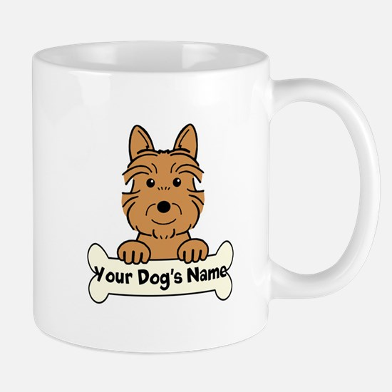 Personalized Australian Terrier Mug