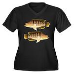 Thinface Cichlid Plus Size T-Shirt
