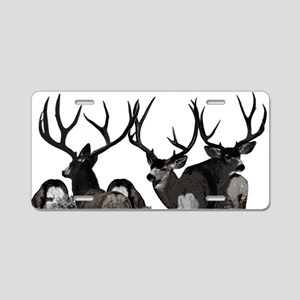 Monster buck deer Aluminum License Plate