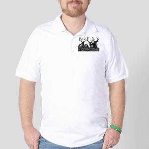 Monster buck deer Golf Shirt
