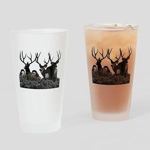 Monster buck deer Drinking Glass