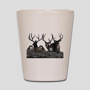 Monster buck deer Shot Glass