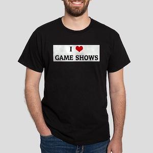 I Love GAME SHOWS Ash Grey T-Shirt