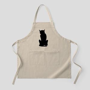 bad cat BBQ Apron