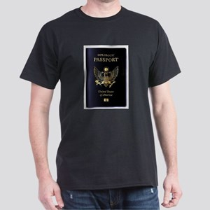 USA Diplomatic Passport T-Shirt